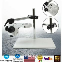 360º Heavy Duty Boom Large Stereo Table Stand Microscope Table Stand 76mm