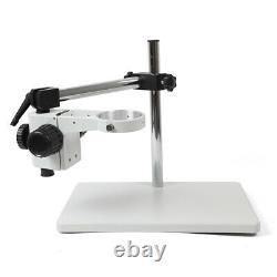 360° Rotation Boom Stereo Microscope Universal Focusing Bracket Table Stand 76mm