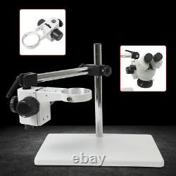 76mm Lab Microscope Boom Stereo Stand Table Multi-Axis Rotation Focusing Holder