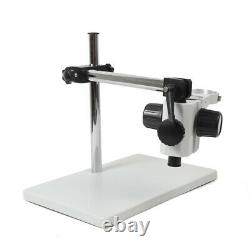 76mm Lab Microscope Support Holder Boom Stereo Stand Multi-axis Rotating Table