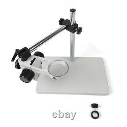 76mm Lab Microscope Table Stand Multi-Axis Boom Stereo Focus Holder Heavy Duty