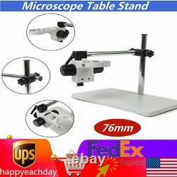 76mm Multi-axis Rotation Boom Stand for Stereo Microscope Focusing Rack/Holder