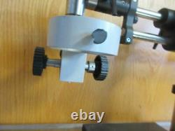 ADJUSTABLE FOCUSING ARM With 10 BOOM STAND FOR STEREO ZOOM MICROSCOPE HEAVY DUTY