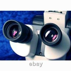 AmScope SM-3BZ-FRL 3.5X-90X Stereo Zoom Boom Microscope + Ring Light