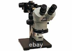 Aven 26800B-369 SPZ-50 Stereo Zoom Microscope on Double Arm Boom Stand