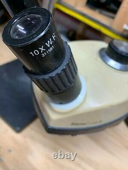 Bausch & Lomb Leica Stereozoom 4 Microscope with Boom Stand 0.7-30x zoom