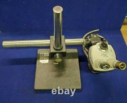 Bausch & Lomb / Stereo Zoom 4 / Microscope / Mounted On Boom Arm & Stand