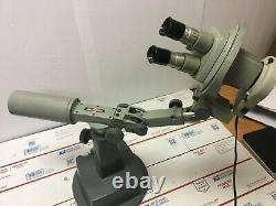 Bausch & Lomb Stereo Zoom Microscope 0.7X 3X 10x eyepieces & Boom Stand