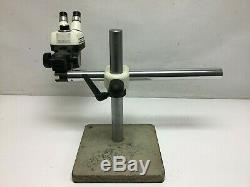 Bausch & Lomb StereoZoom 4 With Boom Arm Stand and 15x Eyepieces