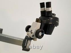 Bausch and Lomb 10x-25x StereoZoom 4 Microscope with Arm Boom Stand