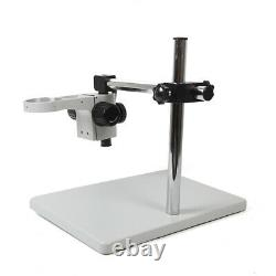 Lab Microscope Support Holder Boom Stereo Table Stand Multi-Axis Rotation 76mm