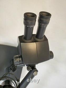 Leica A60 S Stereo Microscope on Boom Stand