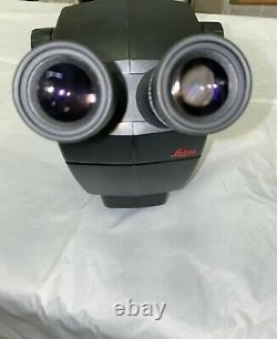 Leica A60 S Stereo Microscope on Boom Stand In Good Condition Fast Shipment