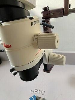 Leica MZ 7.5 Stereo Zoom withDiagnostic Instruments Boom Stand