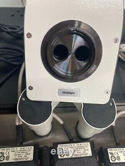 Leica MZ16A Stereomicroscope MST34 with Pwr Controller, Boom Stand, Tucscen ISH300