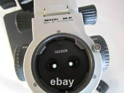 Leica Wild Heerbrugg stereo zoom microscope M8,10x/21 eye pieces on boom stand