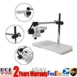 Microscope Table Stand Holder 76mm Support Adjustable Boom Stereo Table Stand US