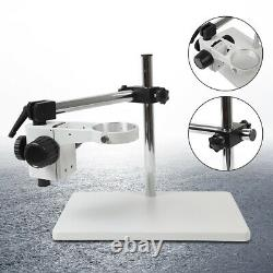 Multi-Axis Rotation Microscope Focusing Holder Lab Table Boom Stereo Stand 76mm