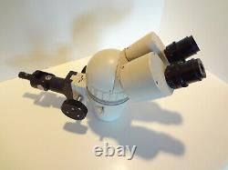 Olympus Sz Stereo Microscope Body And Arm Complete For Boom Stand Mounting
