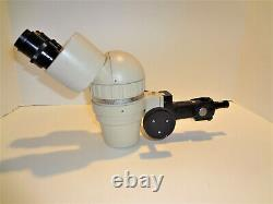 Olympus Sz Stereo Microscope Body Complete For Boom Stand Mounting