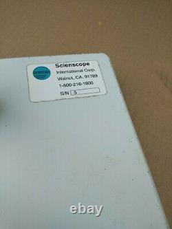 SCIENSCOPE Boom Stand for Stereo Microscope Tube Mount 50mm Focus Block