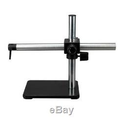 Single Arm Boom Stand for Stereo Microscopes Steel Arm, Pin Mount