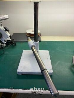 Single Steel Arm Boom Stand for Stereo Microscopes