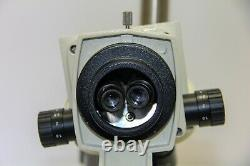 VanGuard Stereozoom Microscope WF10X with Double Boom Arm Stand (2080A)