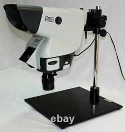 Vision Engineering Mantis Inspection Microscope w 6XSLWD & LED Lamp & Boom Stand