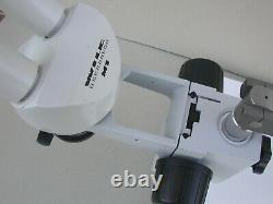 WILD HEERBRUGG M1 stereo microscope with boom stand