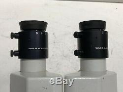 WILD HEERBURGG M3Z STEREO MICROSCOPE With 10x/21B EYEPIECES AND BOOM PARTS SALE