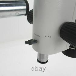 WILD M8 STEREO ZOOM MICROSCOPE With BOOM STAND, 10X EYEPIECES & 1X OBJECTIVE